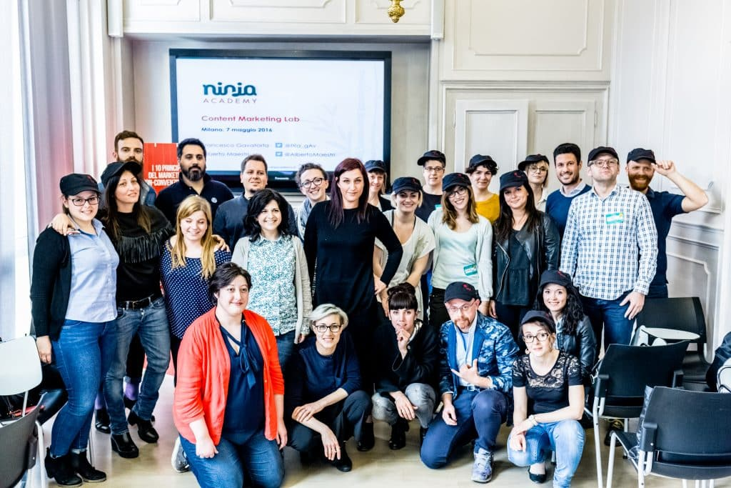 studenti corso ninja academy