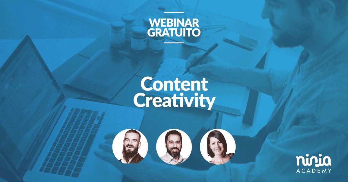 Free masterclass content creativity by ninja academy for Progetta il mio edificio online